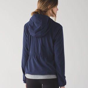 🍋 Lululemon Belle Jacket in Deep Indigo Sz. 2